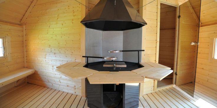 Saunakota, een weldaad voor lichaam en geest, wordt standaard als grenen bouwpakket geleverd als speciale kota met vloeroppervlak van 9m² of 17m2