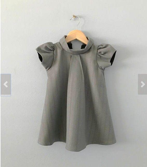 Baby Girl Frock Design Woven Cotton Dress Most Popular Wholesale Boutique Kids Dress