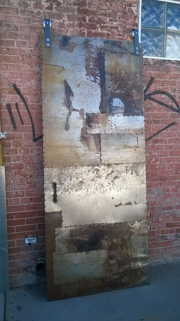 The 10 best images about artistic metal doors on pinterest industrial metal doors sliding door designed and fabricated for an art gallery in las vegas vtopaller Gallery