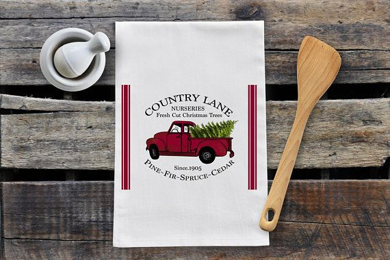 Hey, I found this really awesome Etsy listing at https://www.etsy.com/ca/listing/562593231/christmas-lane-tea-towel
