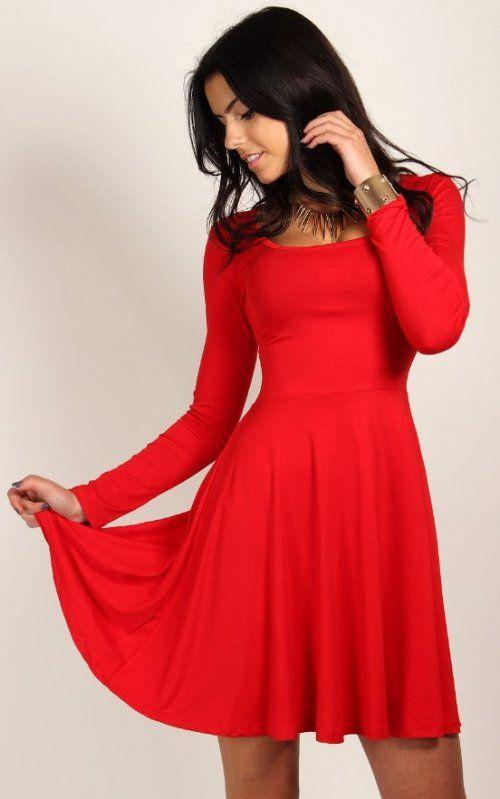 Dámske šaty Bela red