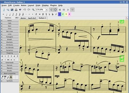 """Scrivere la Musica sul PC in un """" Foglio Musicale Virtuale """" ( clicca l'immagine per continuare a leggere )"""