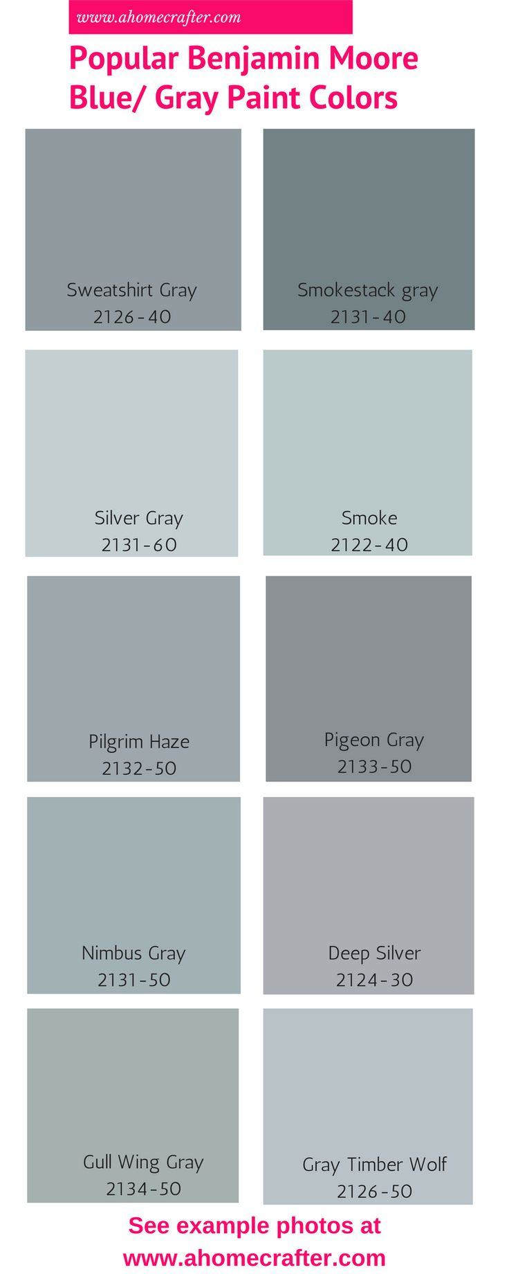 Photo collection blue gray paint colors for Grey white paint colors