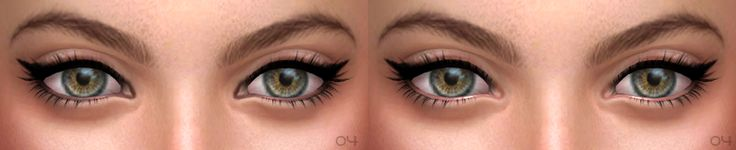 Hello and Happy New Year ^ ^ I prepared two things as greetings: 1) eyeliners 01 - 04, I use them for my models; 2) eyebrows 08 and maybe you saw them here. Hope you enjoy ^ ^ Eyeliner 01 • 4...