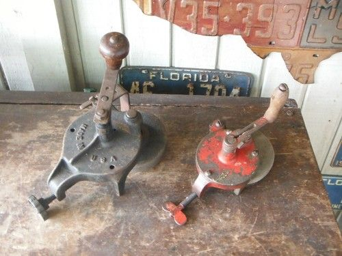 1000 Images About Old Hand Crank Bench Grinders On