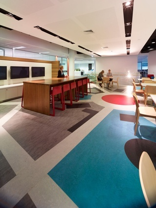 """Delicious space"" by WMK Architecture, using Forbo Flooring Systems"