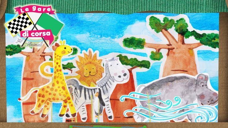 Cartoni animatu per bambini - Gli animali del Madagascar (film) Le gare ...