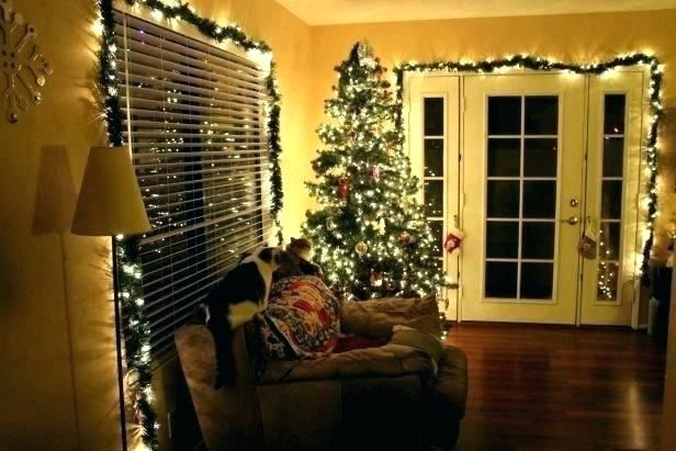 Pin By Angela Kuhn On The Holidays Christmas Decorations Living Room Indoor Christmas Decorations Decorating With Christmas Lights