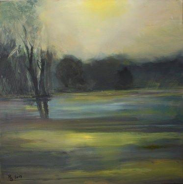 """Saatchi Online Artist Roswitha Schablauer; Painting, """"Autumn"""" #art"""