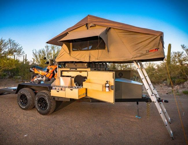 The 6 Best Off Road Trailers Of 2018 Off Road Tent