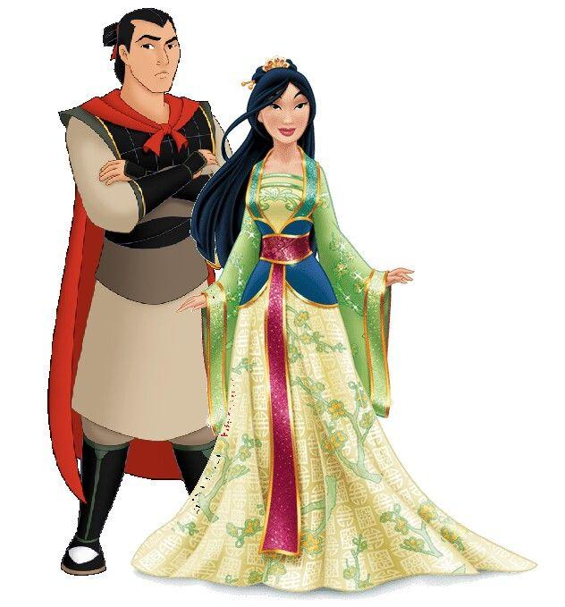 195 best li shang mulan images on pinterest disney - Princesse mulan ...
