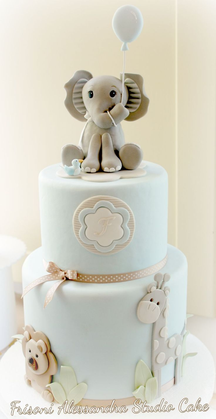 Frisoni Alessandra Studio Cake - what baby shower mama wouldn't love seeing this…