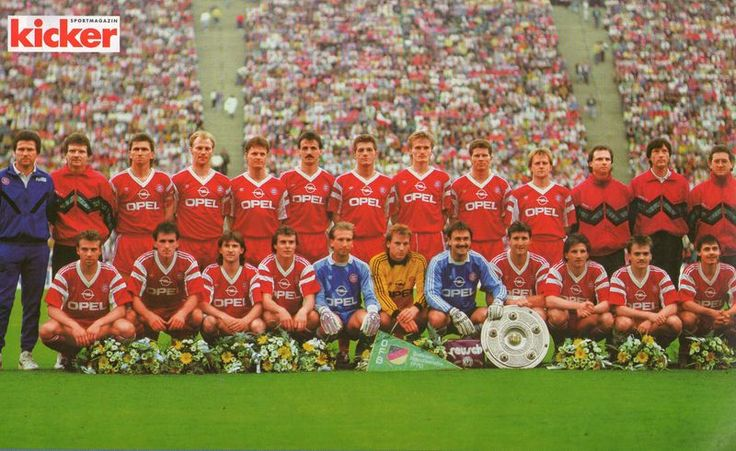 Bayern München - deutscher Meister 1989