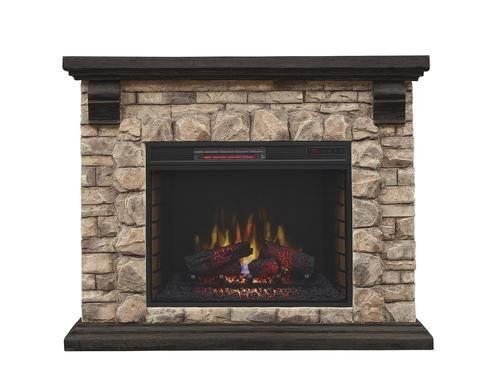 Chimneyfree 50 Quot Denali Electric Fireplace Entertainment