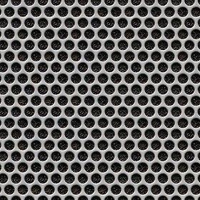 Textures Texture seamless | Perforated metal texture seamless 10474 | Textures - MATERIALS - METALS - Perforated | Sketchuptexture