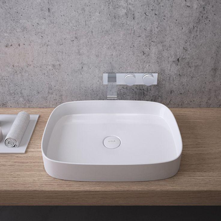 Memoria Mineralcast TV Bowl Washbasin