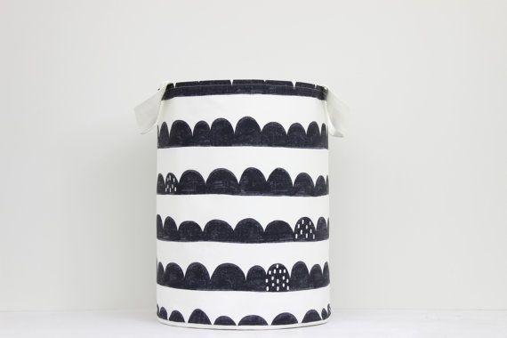Large Laundry Hamper Laundry Basket Toy Storage by ProstoConcept