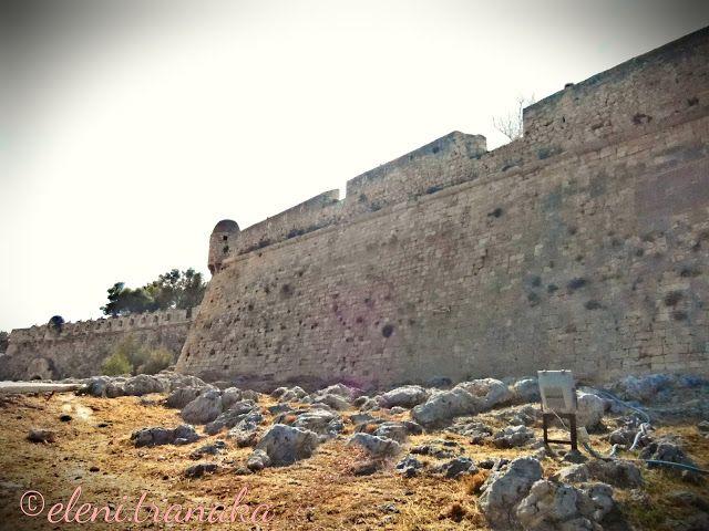 Ελένη Τράνακα: Φορτέτζα Ρεθύμνου, Κρήτη / Fortezza Rethymnon, Crete