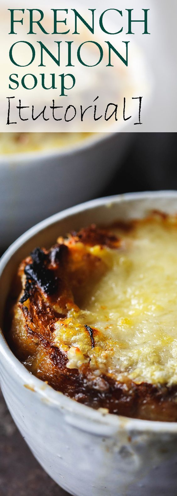 The BEST French Onion Soup Recipe (tutorial) | The Mediterranean Dish…