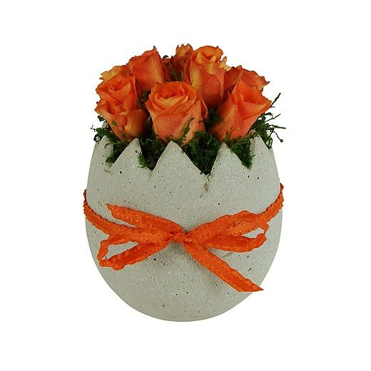 Easter Egg Rose Arrangement - Auckland Delivery Only - Bestow Gifts + Flowers