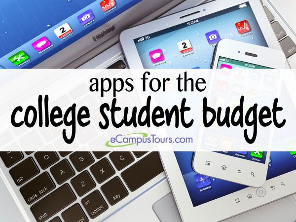 apps for the college student budget #college