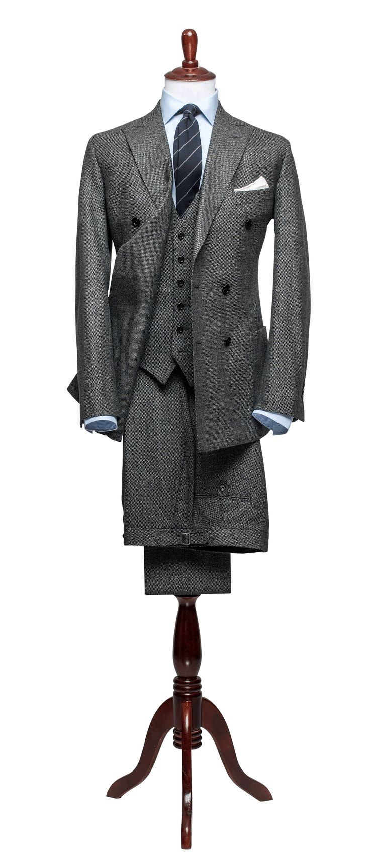 Articles of Style: Charcoal Birdseye