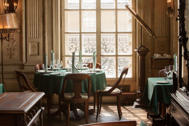 THE LIBRARY #cafepushkin #pushkin #maisondellos