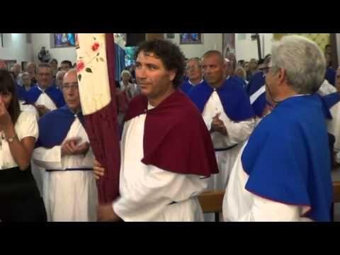 Stintino, festa patronale, nuovo obriere e scambio della bandiera 16 settembre 2012.mp4