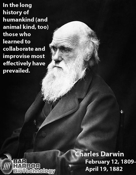 Charles Darwin plowed the way for alternate theories in biology.