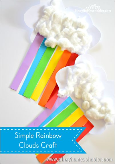 Rainbow craft activities
