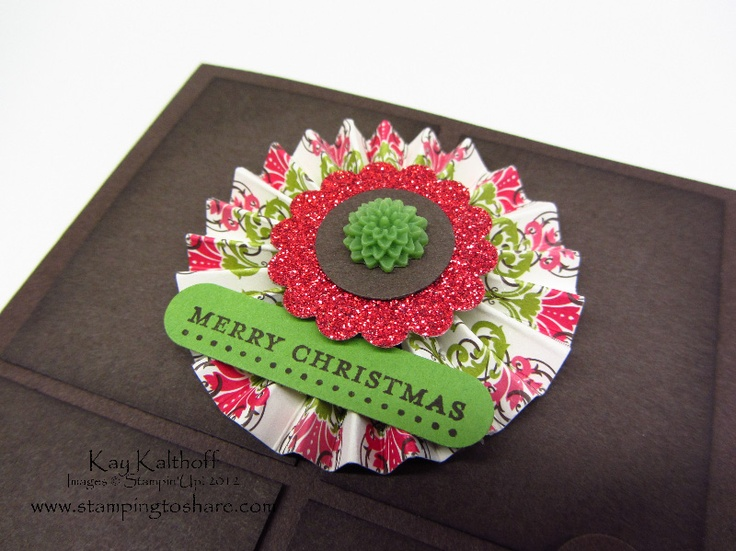 Stamping to Share: 11/7 Stampin' Up! Teeny Tiny Wishes Wreath