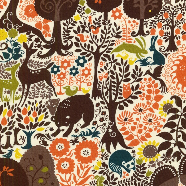 RJR Fabrics Forest Print