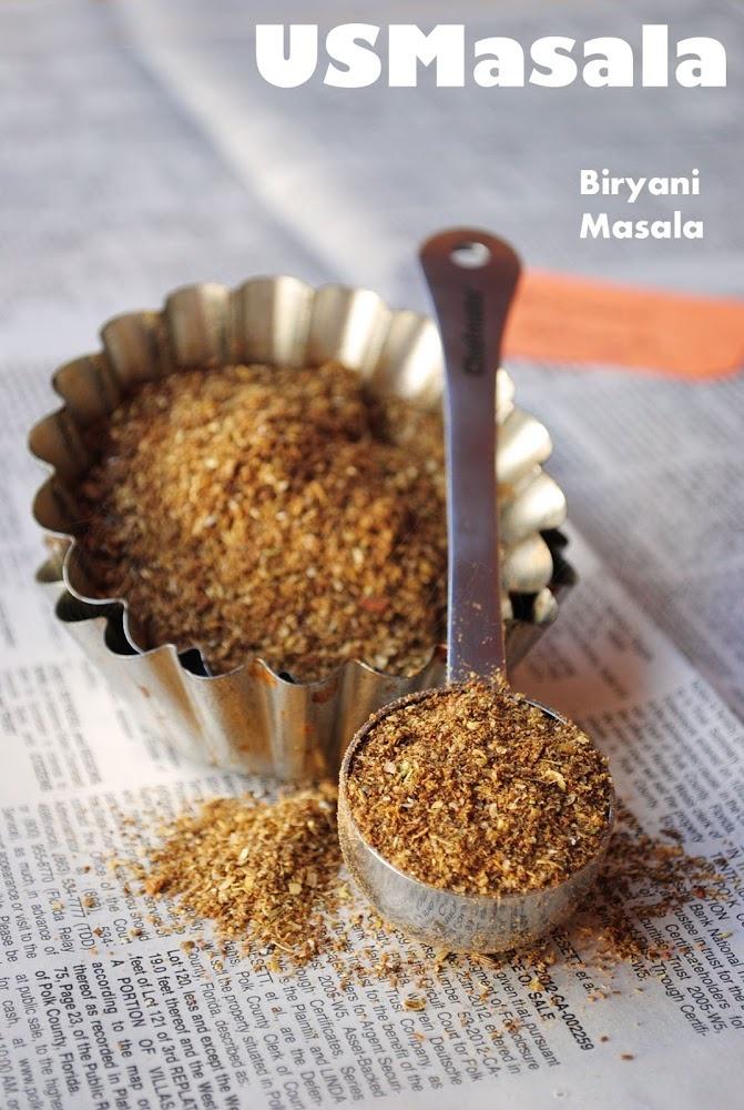 Homemade Biryani Spice mix