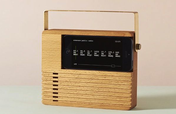 Radio Dock Turns Your iPhone into an Old School Radio -Craziest Gadgets