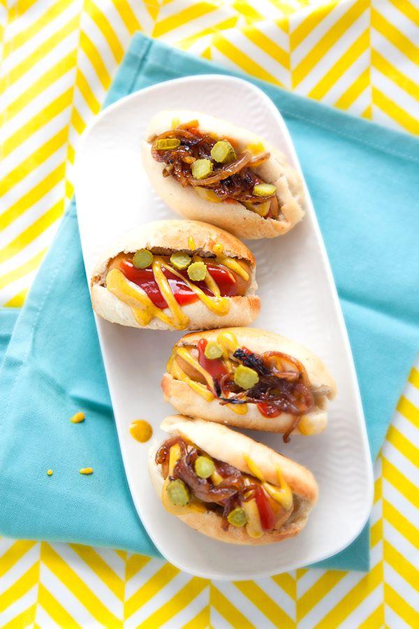 100 % Végétal: Mini hot-dogs vegan