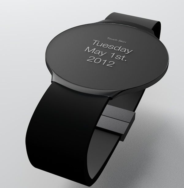 The combination of wristwatch and e-ink has not only led to projects like the Pebble Smartwatch, but continues to inspire designer fantasies …