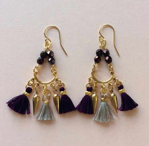 Image of Fringe Earrings