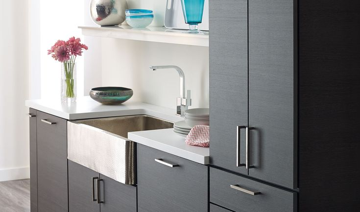 Small space, big on style! Amerock Decorative Cabinet Hardware, Functional Hardware, & Bath Hardware