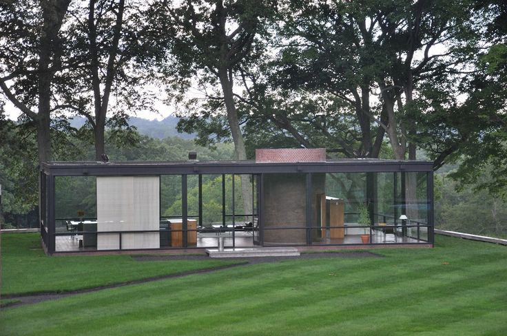 Philip Johnson's Glass House