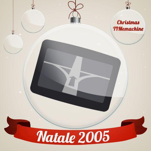Era il Natale del 2005 e da allora nessuno si è più perso! #Natale #gift #ChristmasTIMemachine #TIM #idea #Christmas #regali #Natale #navigatore