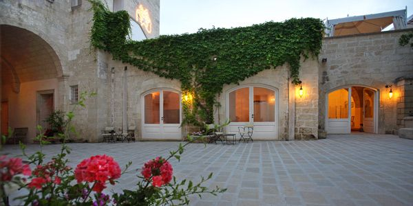 Palazzo Guglielmo Vignacastrisi, Puglia... A small beautiful guest house with super local cuisine served in the evening...