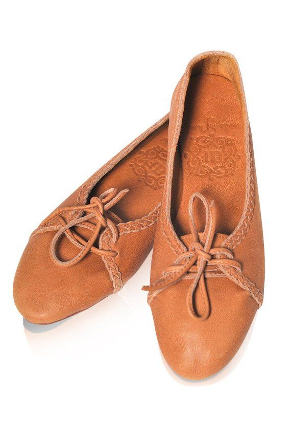 1bb43179a3752 SASHA. Leather ballet flats / womens leather loafers / leather ...