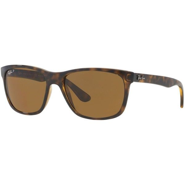 Ray-Ban Sunglasses, RB4181 ($185) ❤ liked on Polyvore featuring accessories, eyewear, sunglasses, ray ban sunglasses, ray ban eyewear, ray ban sunnies and ray ban glasses