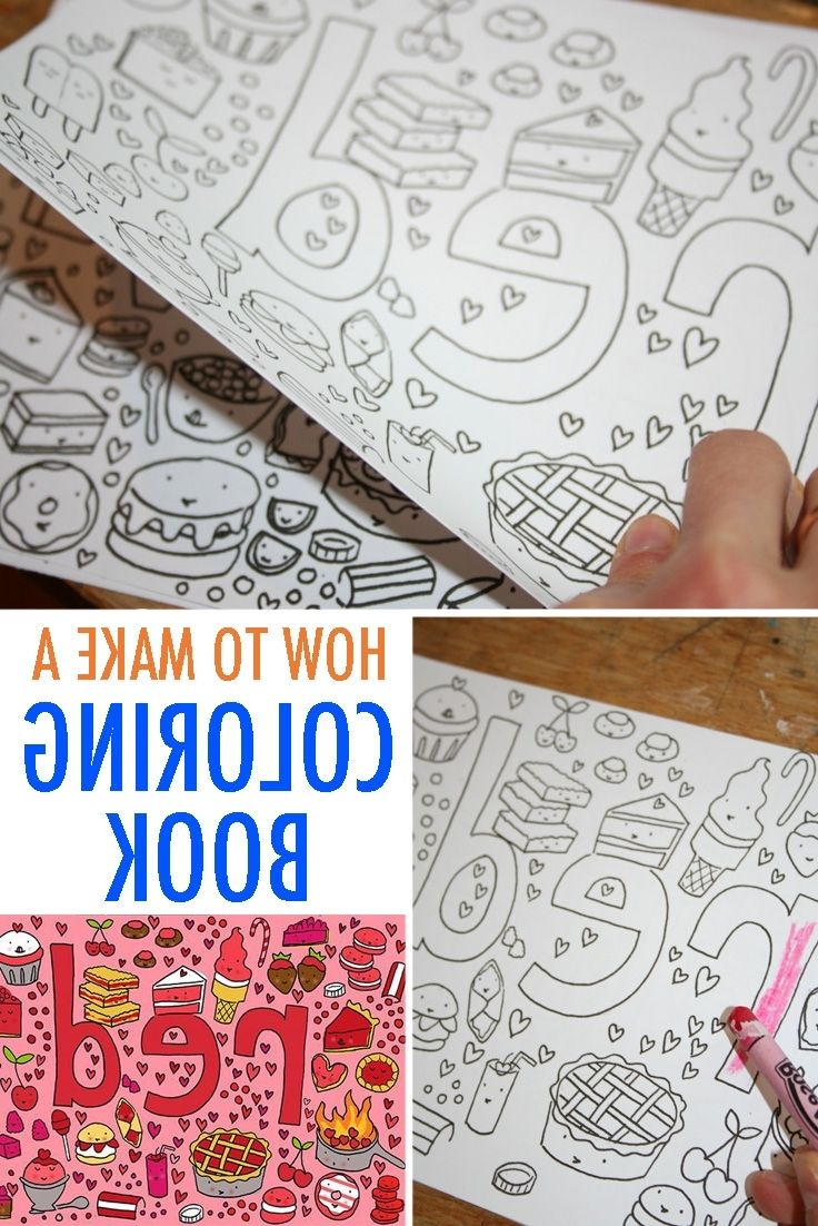 How To Make Your Own Coloring Book PJI8 Make Your Own Coloring