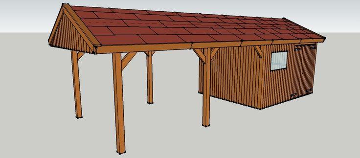 25 b sta carport aus holz id erna p pinterest carport holz carport bauen och garage aus holz. Black Bedroom Furniture Sets. Home Design Ideas
