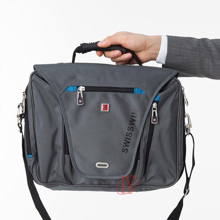 Suissewin Laptop Briefcase водонепроницаемых мужчин 15 дюймовый ноутбук сумка женщина Wenger мешок плеча портфель мужской сумка мужской портфель