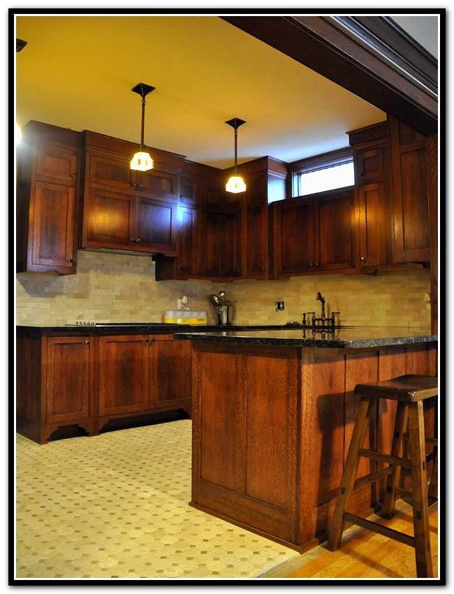 Mission Style Kitchen Cabinets Quarter Sawn Oak