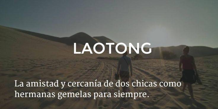 Ademas de mi madre, espero pronto encontrar a mi Laotong pronto.