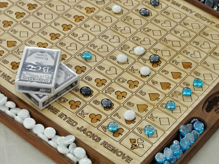 Sequence Wooden DIY Board Game