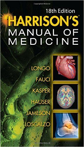 Harrisons Manual of Medicine 18th Edition PDF